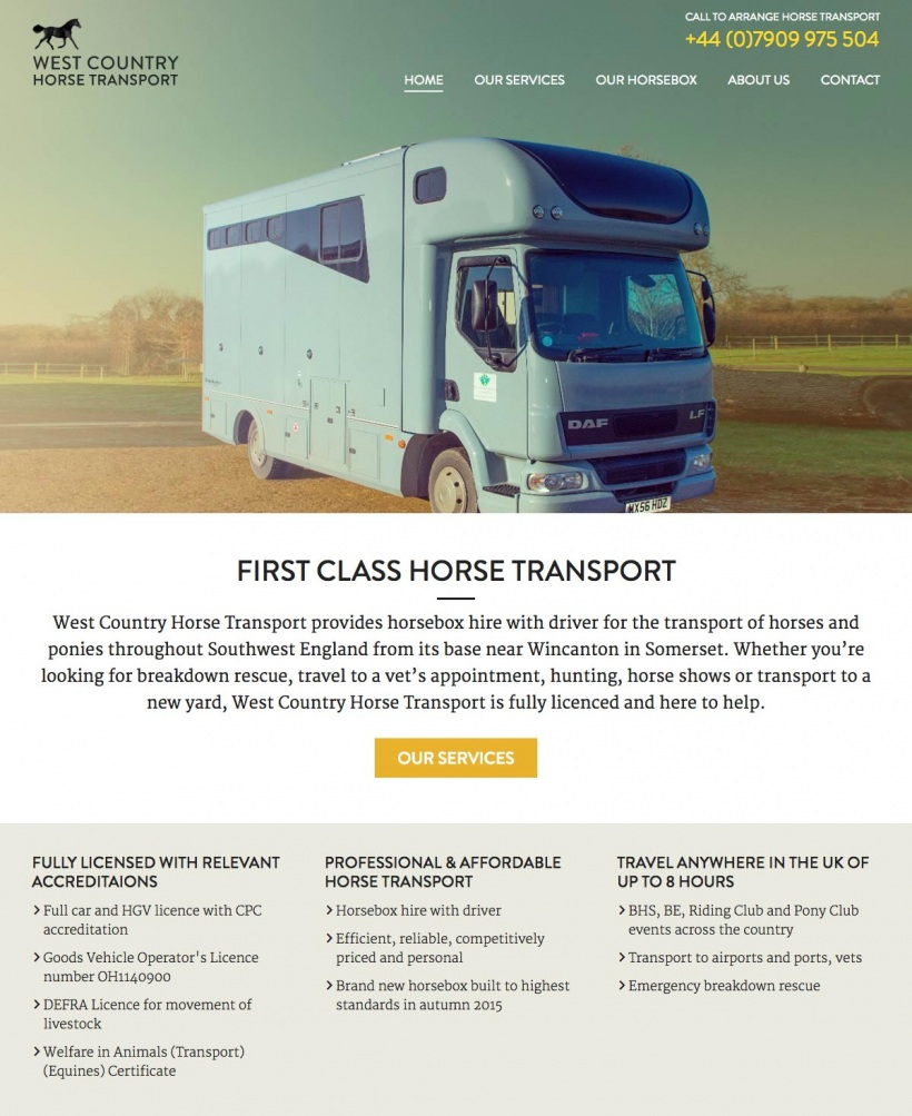 West Country Horse Transport