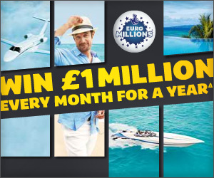Euromillions banners