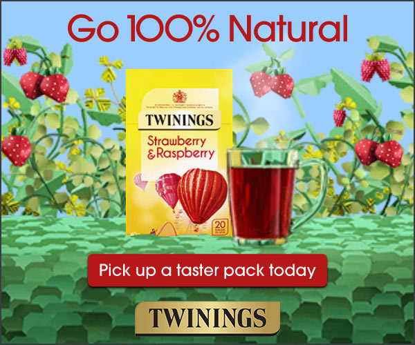Twinings banner
